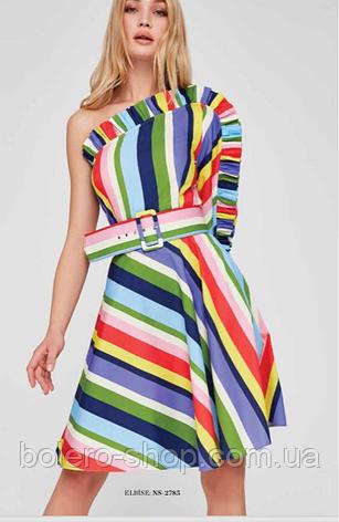 Платье полоска котон Италия, фото 2