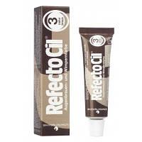 Рефектоцил №3 Натурально-коричневая - краска для бровей и ресниц RefectoCil 15 мл