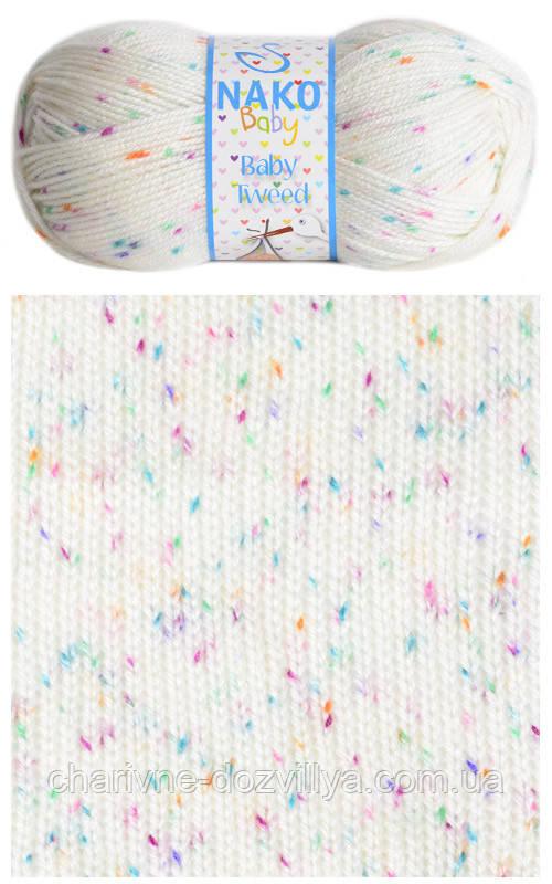 Пряжа для ручного вязания NAKO Baby Tweed