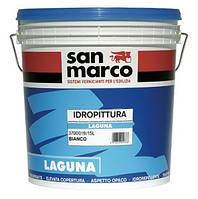 Краска паропраницаемая акриловая на водной основе LAGUNA (Лагуна) San Marco