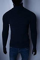 Гольф водолазка мужской теплый Figo 930658 синий