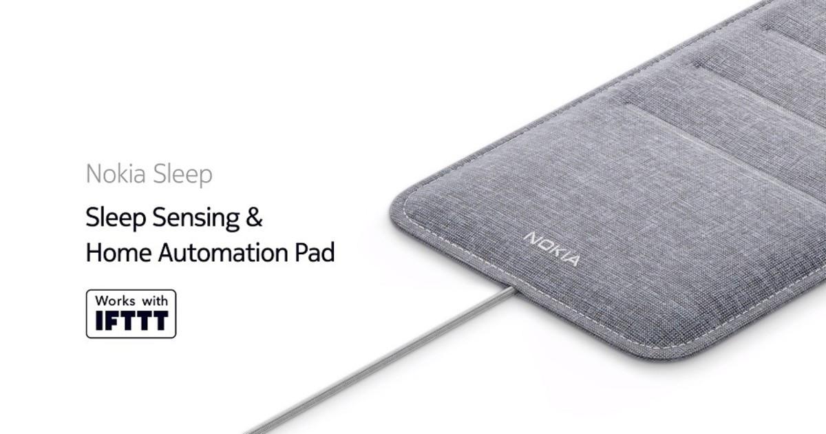 Nokia Sleep Sensing - система управления сном, подкладка под матрас