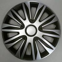 Автоколпаки Argo Nardo Silver&Black R14, фото 1