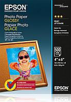 Фотобумага EPSON Glossy Photo Paper, глянцевая 200g/m2, 10х15, 500л (C13S042549)