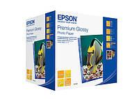 Фотобумага EPSON Premium Glossy Photo Paper, глянцевая 255g/m2, 10х15, 500л (C13S041826)