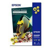 Фотобумага EPSON Premium Glossy Photo Paper, глянцевая 255g/m2, 13x18, 500л (C13S042199)