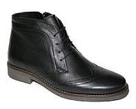 Ботинки зимние классические кожаные мужские Caman 5648-54