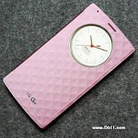 Чехол Smart-View Case для LG G4 (H818p) Romantic Pink