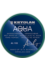 Зеленый  аква-грим AQUACOLOR 55 мл (оттенок 095)