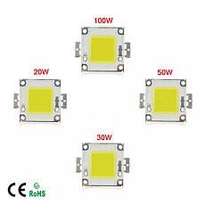 LED модуль 20вт сверхяркий потужний світлодіодний чіп LED Epistar для прожекторів, фото 3