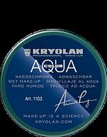 Зеленый аквагрим AQUACOLOR 55мл(оттенок 096)