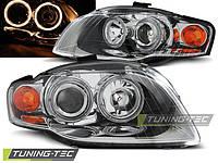 Передние фары тюнинг оптика Audi A4 b7