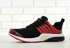 Кроссовки мужские Найк Nike Air Presto Black/Red, фото 3