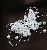 Красивое украшение  для волос с бабочкой  от LadyStyle.Biz