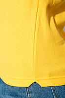 Поло женское на пуговицах 972K001 (Желтый)