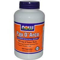 Кора муравьиного дерева (Пау Дарко, лапачо) 250 капс 500 мг для иммунитета противовирусное  NOW Foods USA
