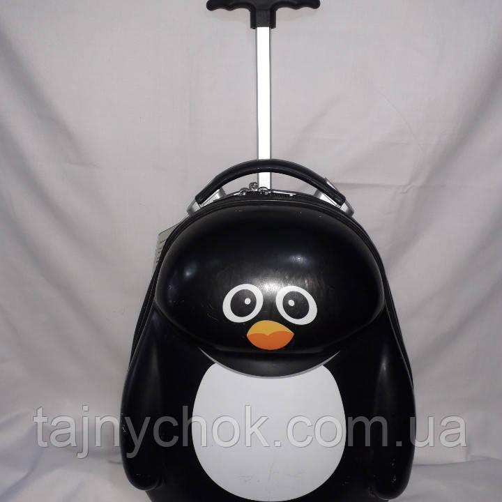 Пластиковый детский чемодан