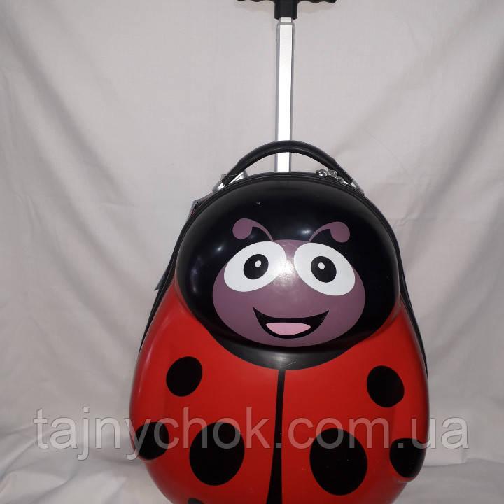 Детский пластиковый чемодан, фото 1