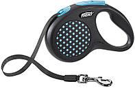12272 Flexi Рулетка Design M 5м до 25кг лента, синий