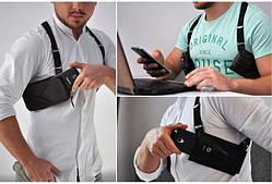 Кобура для телефона Phonster X Double Multisize - Стильный и удобный аксессуар для ваших гаджетов и кошелька