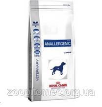 Корм для собак Royal Canin (РОЯЛ КАНІН) ANALLERGENIC CANINE при харчовій алергії, 3 кг