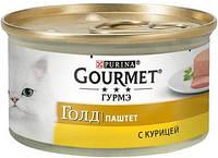 381494 Gourmet Gold Паштет с курицей, 85 гр