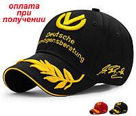 Мужская стильная и спортивная кепка бейсболка блайзер Racing Cap Шумахер