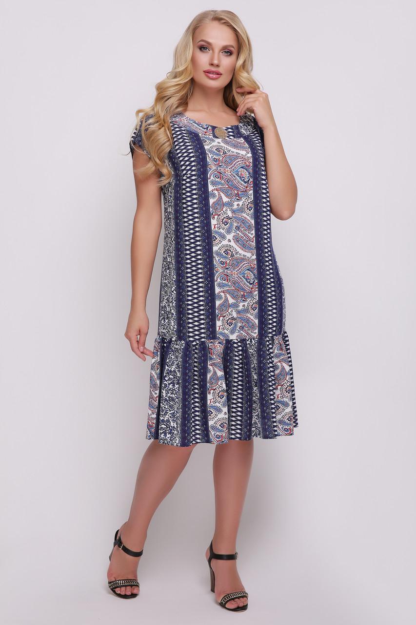 Платье женское Яна деним