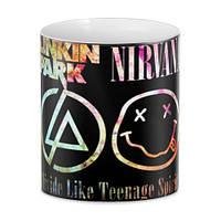Кружка GeekLand рок Linkin park and  Nirvana