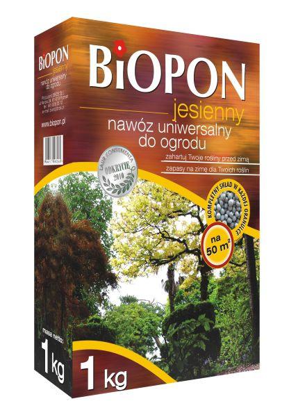 Biopon удобрение осеннее универсальное 1кг Гранулированное комплексное