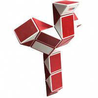 Змейка рубика Змейка бело-красная в коробке Smart Cube SCT402