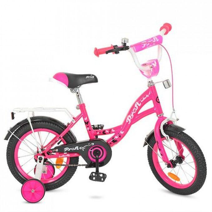 Двухколесный велосипед Profi Butterfly 14