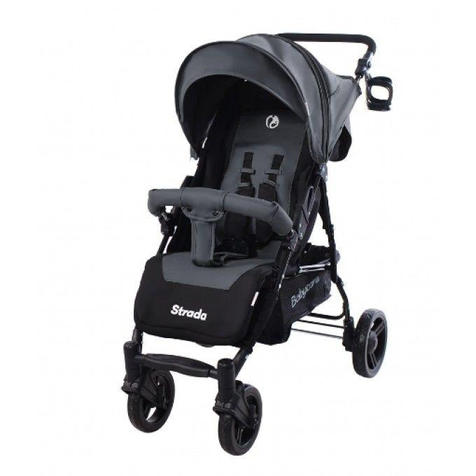 Детская прогулочная коляска Babycare (CRL-7305 Feather Grey) с подстак