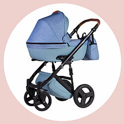 Невероятная новинка для новорожденных. Универсальная коляска 2 в 1 Bair Leo. Производство Польша
