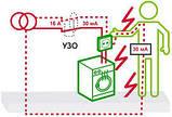 Дифференциальный выключатель (УЗО) 11464 ВД63, 4P 40А 100мА, фото 2
