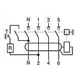 Дифференциальный выключатель (УЗО) 11464 ВД63, 4P 40А 100мА, фото 3