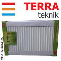Радиатор стальной TERRA teknik т22 500*800 (боковое подключение)