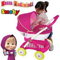 Коляска для куклы Маша и Медведь Smoby 254101 с люлькой