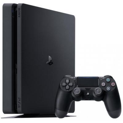 Игровая консоль SONY PlayStation 4 Slim 500 Gb Black (HZD+GTS+UC4+PSPl