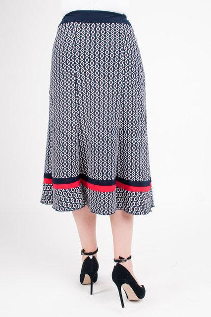 8f903531f5b ... Красивая трикотажная юбка больших размеров