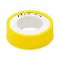 Лента фум profi желтая 19мм х0,2ммх15м