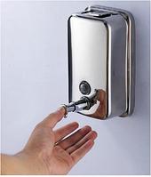 Дозатор для жидкого мыла настенный 6-034, фото 1