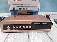 Pantesat HD-2058 T2 IPTV Цифровой эфирный тюнер