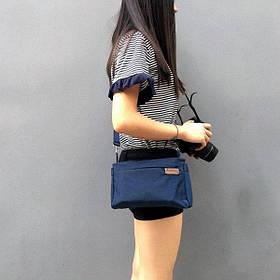 Женская повседневная сумочка, Темно-синий ( сумка городская )