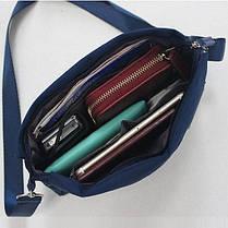 Женская повседневная сумочка, Серый ( сумка городская ), фото 2