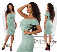 64debde6371 Платье-футляр мини из трикотажа