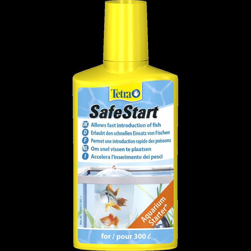 Tetra SafeStart 100 мл на 120 л - подготовка воды в аквариуме