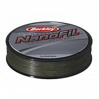 Шнур плетеный Berkley Nanofil 125м 0.06 (3.36кг) Темно-зеленый