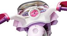 Детский трицикл Peg Perego Raider Princess 6V, мощность 60W, размер 93*70*60 см, фото 3