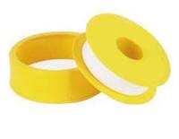 Лента фум маленькая желтая 12х0,1мм х10 MAER